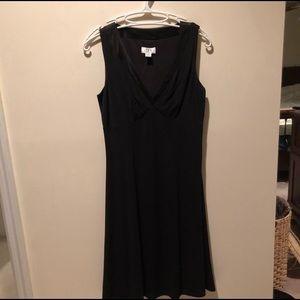 Ann Taylor black cocktail dress